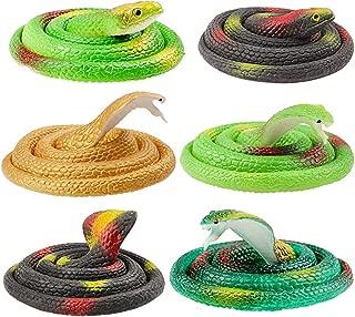 130 cm Réaliste Caoutchouc Serpent Jouet Jardin Accessoires Blague Farce Cadeau wild REPTILE NEUF