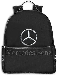 ShannonStone Girlâ€s Mercedes-Benz Black-edged Multifunctional Full Print Bags For University