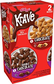 Krave Dual Pack Cereal With Chocolate Flavored Center 34 Oz, 34 oz