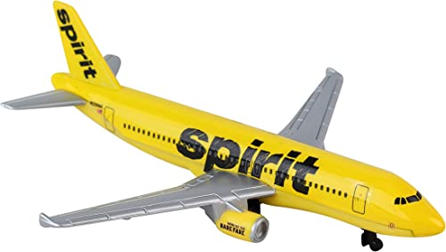 Daron Spirit Airlines Single Die-Cast Plane by Daron