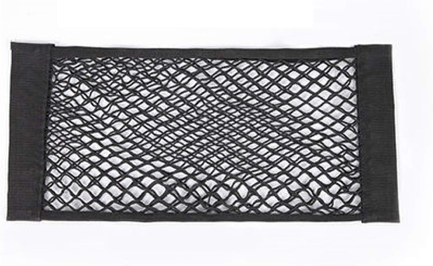 HKPKYK Car Back Louisville-Jefferson County Mall Rear Mesh Max 43% OFF Trunk St Net String Seat Magic Elastic