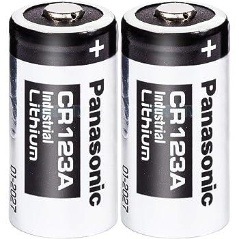 Panasonic CR123A リチウム電池 1550mAh (2本組) [並行輸入品]