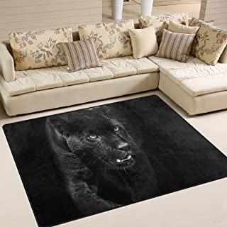 Best black panther rug Reviews