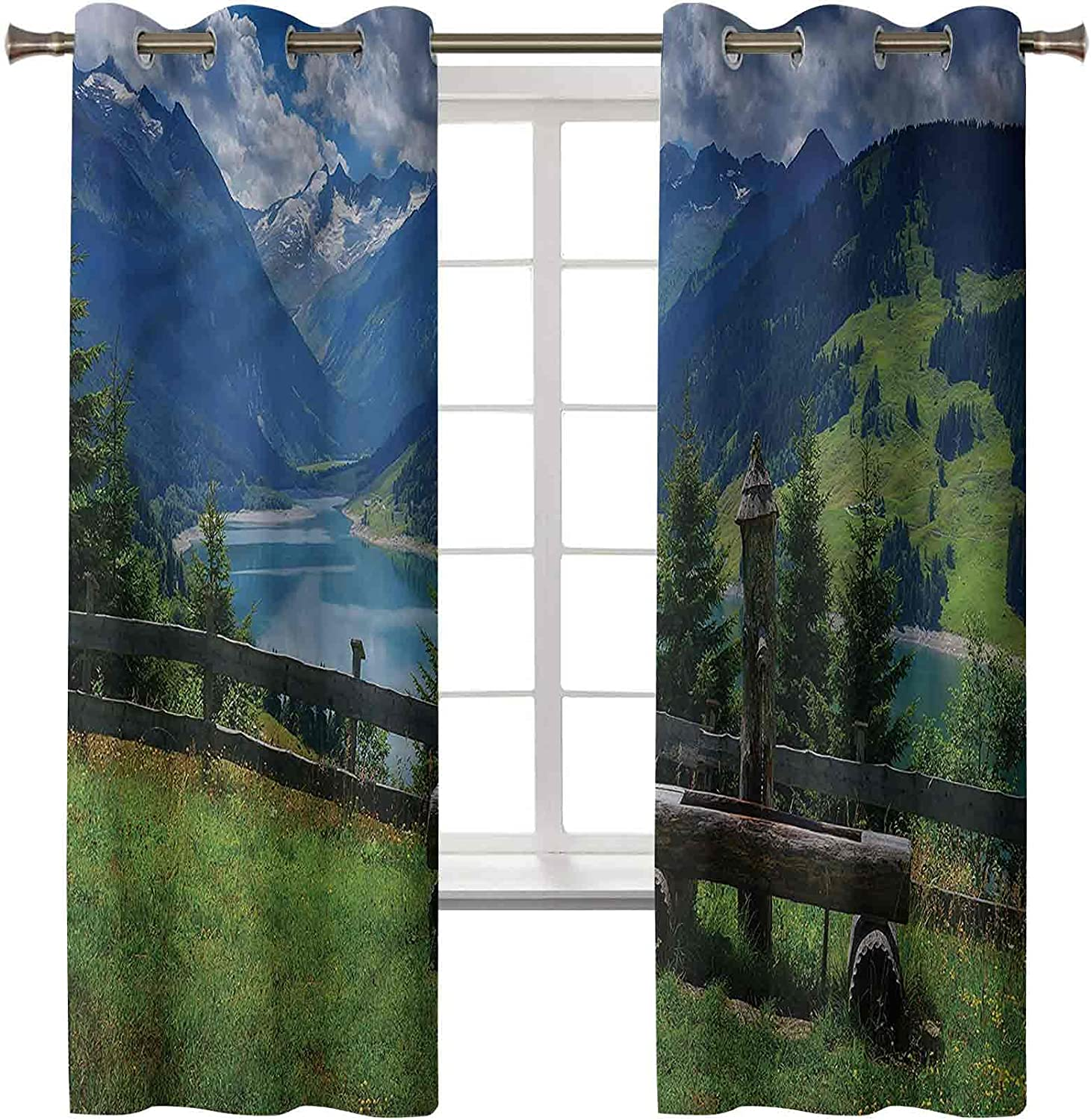 Blackout Curtains for Bedroom Max 56% OFF Thermal In stock Window Treatment Insulate