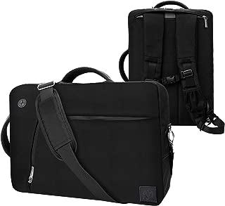 Black Convertible Laptop Bag for 14 15.6 inch Dell Latitude, Inspiron, Chromebook, Precision, Vostro, G3 G5 G7 m15 R2