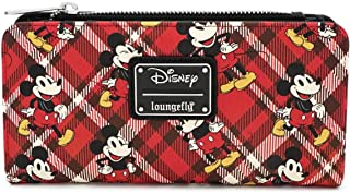 Loungefly x Mickey Mouse Plaid Wallet