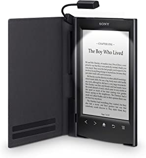 Sony PRSA-CL22 - Tapa protectora con luz para lector de eBook - piel sintética, policarbonato, plástico ABS