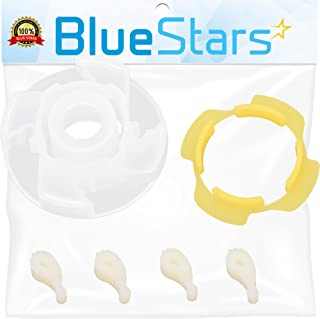 Ultra Durable 285809 Washer Short Cam Agitator Repair Kit by Blue Stars - Exact Fit for Whirlpool & Maytag Washers - Replaces 3951650 3951682 AP3094543 PS334648