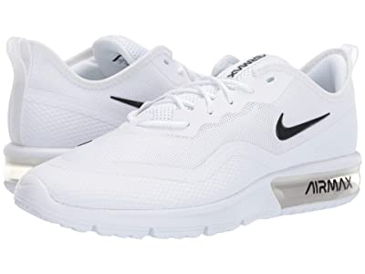Nike Air Max Sequent 4.5 (White/Black) Men