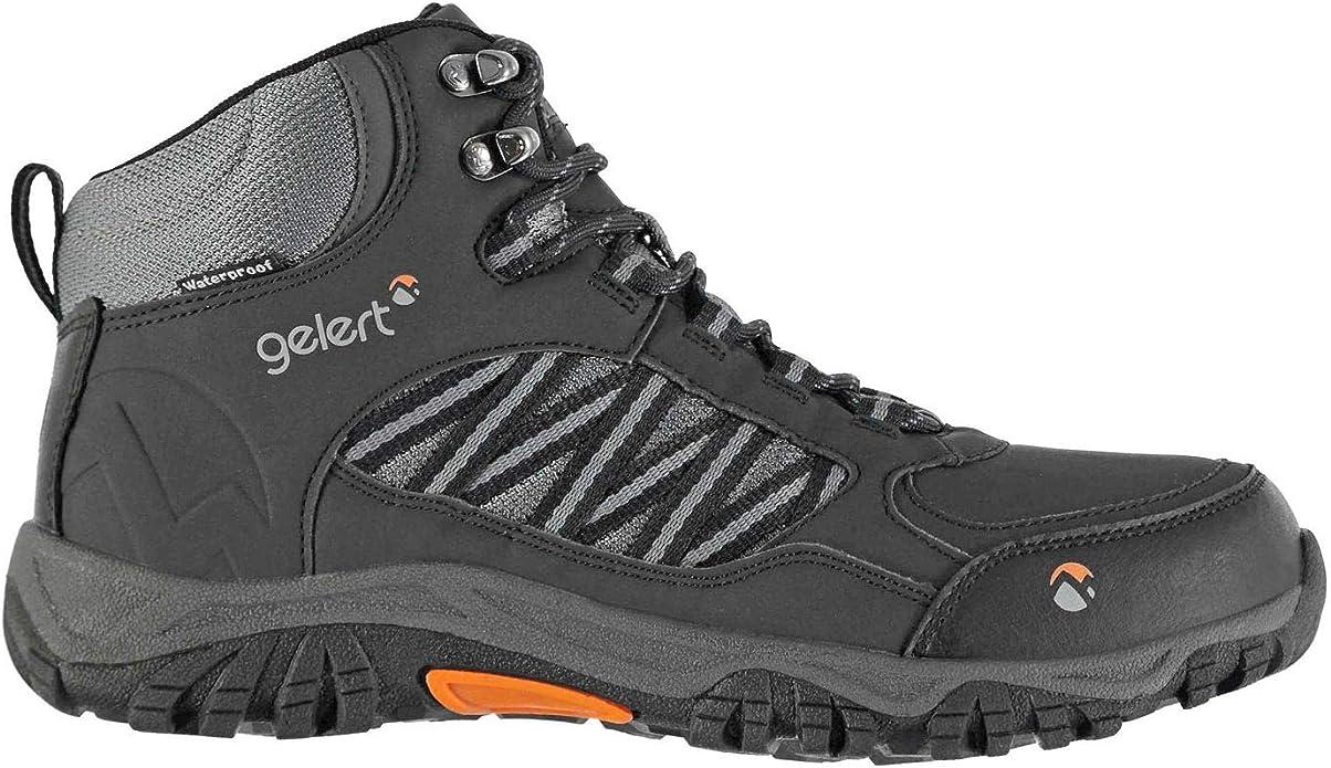 Gelert Kids Horizon Low Waterproof Walking Boots Breathable Lace Up Shoes
