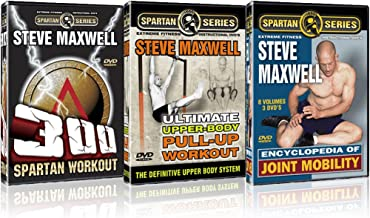 Steve Maxwell 3 Pack: Ultimate Fitness DVDs Brand New!