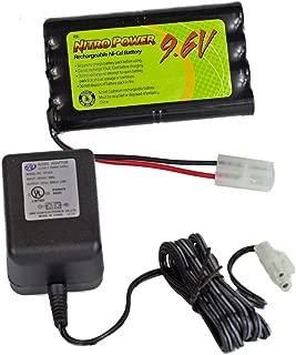 9.6 Volt Nitro NiMH, 700mAh Battery and Charger
