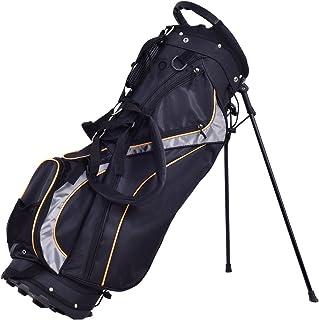 a80c5726a6 Tangkula Golf Bag 7 Way Divider Light Weight Portable Golf Cart Bag  Waterproof Wear-Resistant