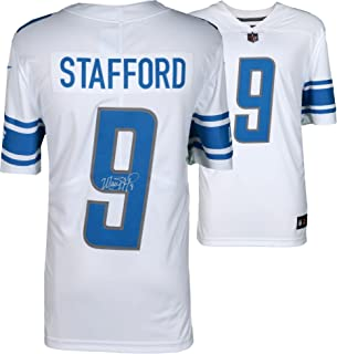 Matthew Stafford Detroit Lions Autographed White Nike Limited Jersey - Fanatics Authentic Certified - Autographed NFL Jerseys