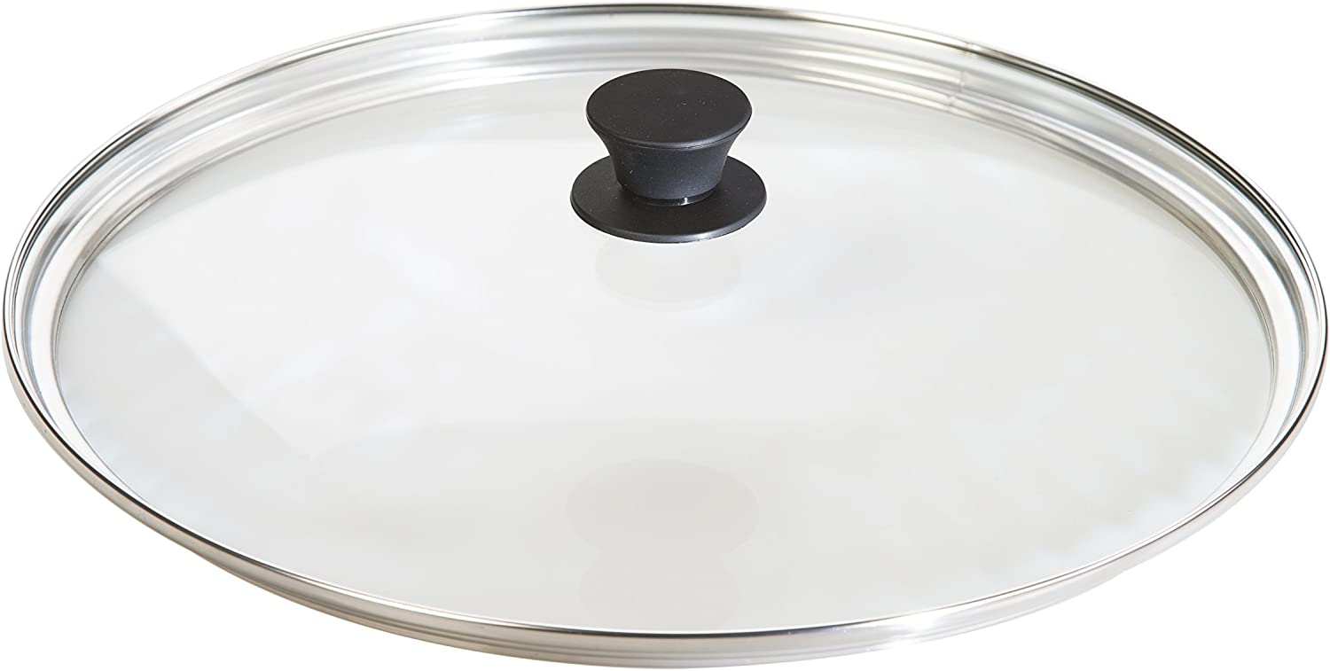Lodge Tempered Glass Lid (15 Inch) – Fits Lodge 15 Inch Cast Iron Skillets and 14 Inch Cast Iron Woks : Everything Else
