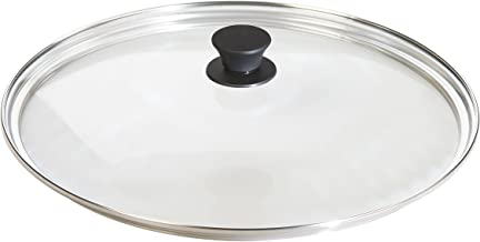 Lodge Tempered Glass Lid (15 Inch) – Fits Lodge 15 Inch Cast Iron Skillets and 14 Inch Cast Iron Woks