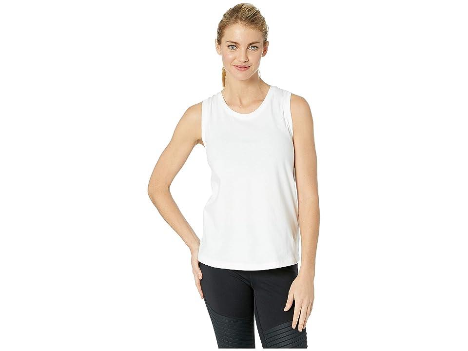 New Balance Athletics Racerback Tank Top (White) Women
