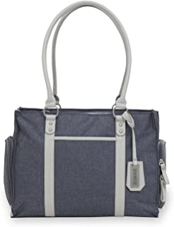 Bananafish Charlotte Electric Breast Pump Tote Bag - Portable Carrying Bag Great for Travel or Storage – Accessory and Cooler Pockets - Fits Most Major Brands Including Medela and Spectra