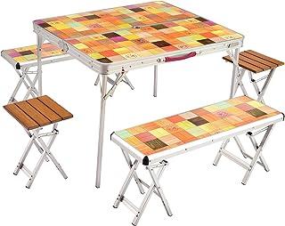 コールマン(Coleman) テーブル ナチュラルモザイクリビングテーブル