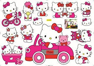 Blocksco Hello Kitty Removable Kids Room Wall Sticker Home Decor