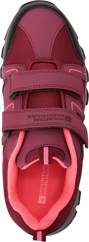Mountain Warehouse Cannonbal Stivali da Passeggio Bambino Confortevoli e durevoli Scarpe Adatte per Ogni Stagione per Viaggiare e Andare in Campeggio