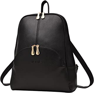 Brand Women Bags Backpack Purse PU Leather Zipper Bags...