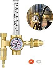 AGPtEK Argon CO2 Mig Tig Flow meter Regulator CGA580 Welding Weld