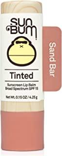 Sun Bum Tinted Lip Balm Sand Bar | SPF 15 | UVA / UVB Broad Spectrum Protection | Sensitive Skin Safe | Hypoallergenic,Par...