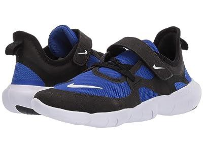 Nike Kids Free RN 5.0 (Little Kid) (Racer Blue/Black/White) Kids Shoes