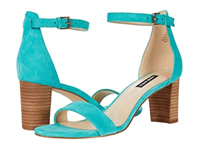Nine West Pruce Block Heeled Sandal (Maldive) Women