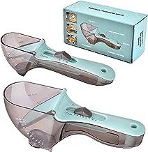 Verstelbare maatlepel, maatlepels en kopjes Set Theelepel magnetische Ons Maatschalen Lepels Set Plastic Househould Lepel ...