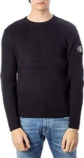 Calvin Klein Jeans Men's Monogram Sleeve Badge Cn Sweater