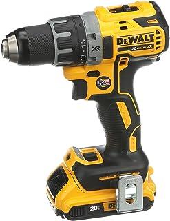 DEWALT Brushless Compact Drill Driver Kit, Yellow/Black, Dcd791D2-Gb