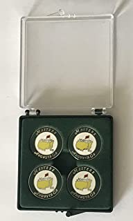 2019 Masters golf ball marker set of 4 tiger woods wins augusta national