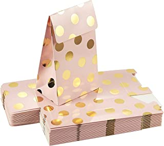 Best Blue Panda Gold Polka Dot Party Favors Bags (24 Pack) Review