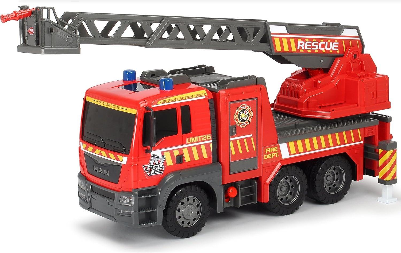Unbekannt Man Feuerwehrauto 54 cm mit Luftpumpfunktion zum Heben der Leiter • Toys Feuerwehr Auto Air Pump Löschfahrzeug Spielzeug Einsatz Fahrzeug B075NKKJVW Ab dem neuesten Modell  | Zuverlässige Leistung