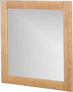 Marca Amazon -Alkove - Hayes - Espejo de madera maciza (juego de 2 roble salvaje)