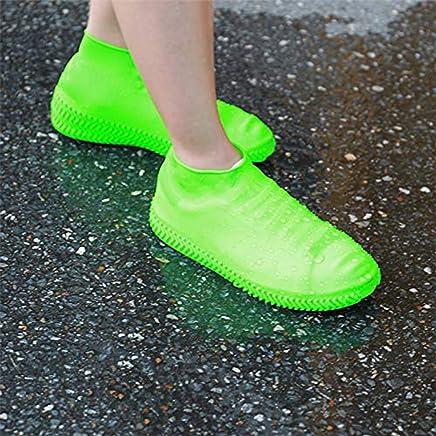 Skyfish® Reusable Rainproof/Non-Slip Resistant Silicon Waterproof Shoe Cover (Multi Color)