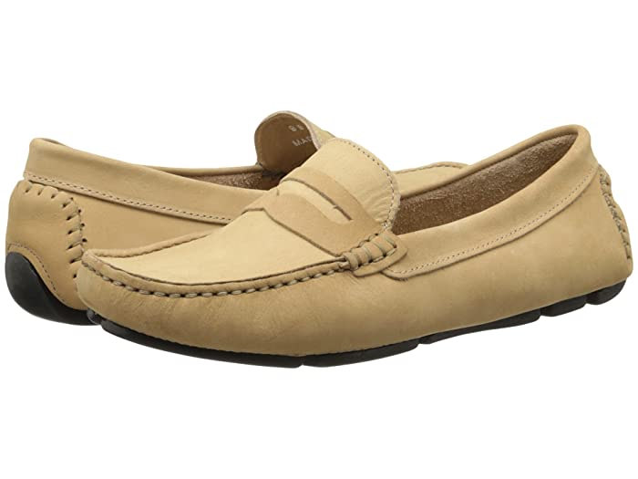 Massimo Matteo  Penny Keeper (Almond) Womens Moccasin Shoes