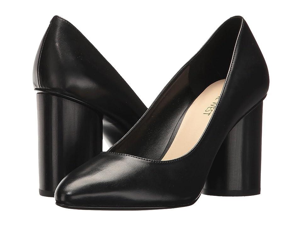 Nine West Cardya (Black Leather) High Heels