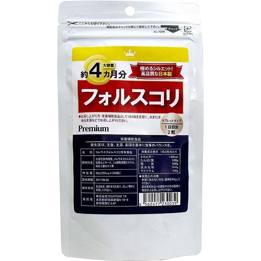 誓い偏差グラフサプリメント 高品質な日本製 健康食品 フォルスコリ 約4カ月分 240粒入【2個セット】