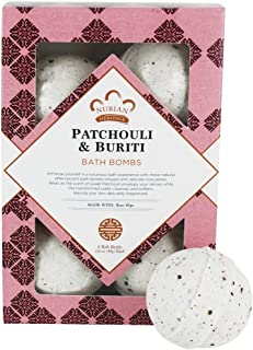 Patchouli Buriti Bath Bombs with Rose Hips (6 Bath Bombs)