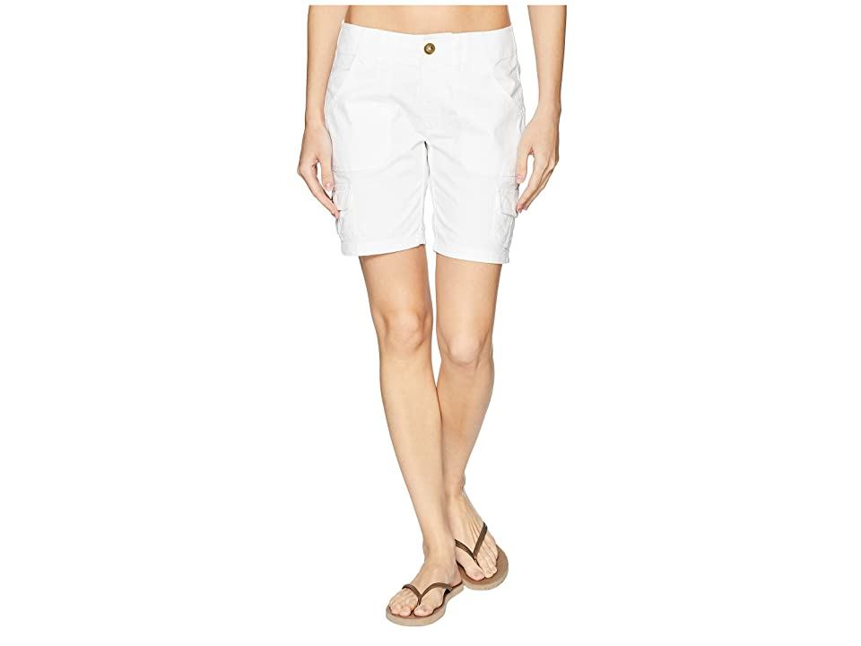 Aventura Clothing Applegate Shorts (White) Women's Shorts