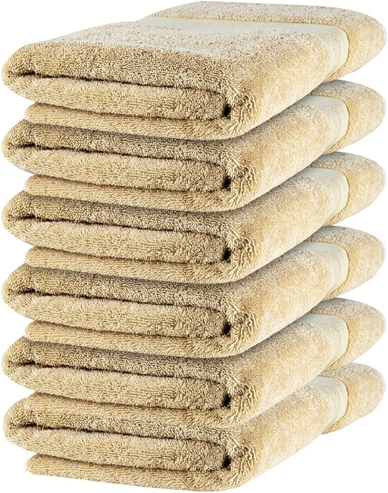 Zellbury Home Premium Bath Popular standard Towels Complete Free Shipping with Ba for 100% Combed Cotton