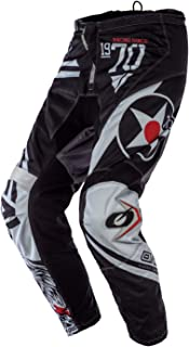 0124r de 0 ONeal Element MX Pantalon RACEWEAR Bleu Noir Motocross Enduro Offroad Cross Moto Quad