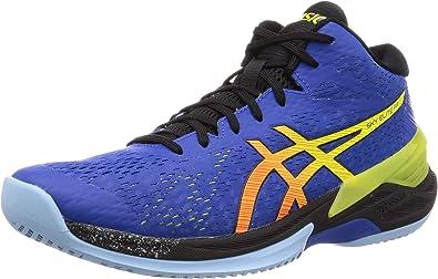 Asics Men's Sky Elite Ff Mt Multisport Indoor Shoes, Multicolour (Asian Blue/Sour Yuzu 400)