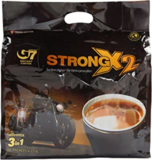 G7 3-in-1 Instant Coffee, 36 Servings Extra Strength