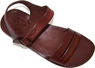 Unisex Leather Biblical Sandals (Jesus - Yashua) Samaria Style I