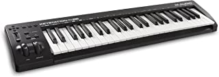 M Audio Keystation 49 MK3 | Compact Semi Weighted 49 Key MIDI Keyboard Controller with Assignable Controls, Pitch / Modulation Wheels and Software Production Suite included USB Powered
