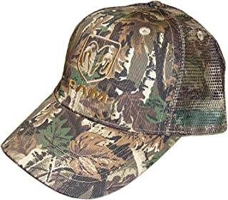 Hot Shirts - Men's Ram/ Camouflage Hat - Twill Front/Mesh Back